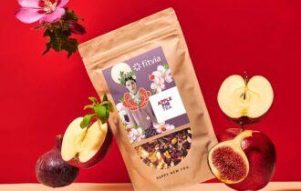 L'Apple Fig Tea di Fitvia: un sorso d'estate tutto l'anno
