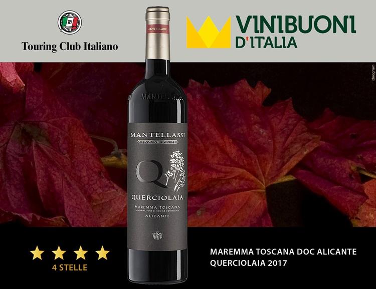 Per Fattoria Mantellassi pioggia di stelle a Vinibuoni d'Italia 2022